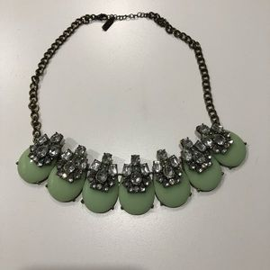 Baublebar Green Statement Necklace